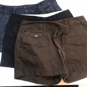 Ann Taylor Loft bundle of shorts.